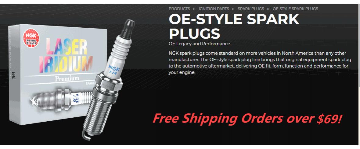 NGK Laser Iridium Spark Plugs - ClubPlug.ca